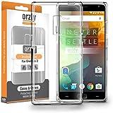 Orzly® - FlexiCase para OnePlus 2 SmartPhone ( 2015 Version / Dual SIM Modelo Teléfono Móvil) - Funda Protectora de Gel Flexible - Semi Transparente TRANSPARENTE