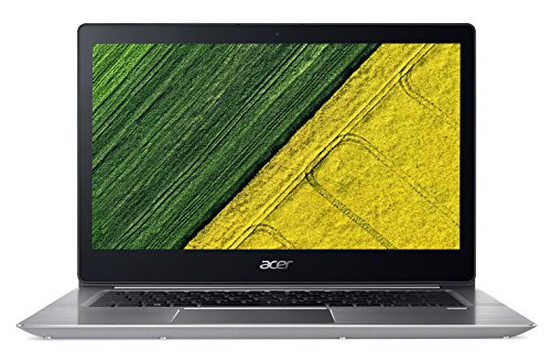 Acer Swift 3 SF314-52-30QS 14-Inch Notebook - (Sparkly Silver) (Intel Core i3-7130U, 8 GB RAM, 128 GB SSD, Intel HD Graphics 620, Windows 10 Home)
