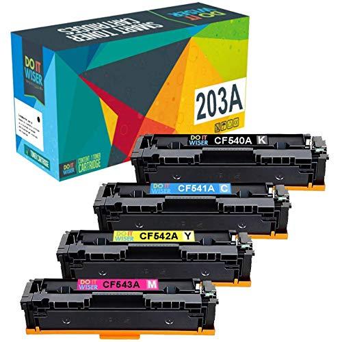 Do it Wiser Cartuchos Toner Compatibles HP CF540A