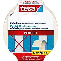 tesa Malerband PERFECT für scharfe Farbkanten, 50m x 30mm