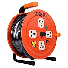 Okem Extension Cable Reel 50M