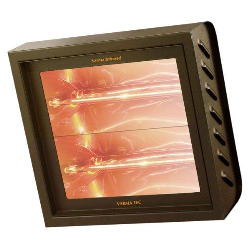 Infrarot Heizstrahler - Wärmestrahler - V400/2V 4000 W anthrazit