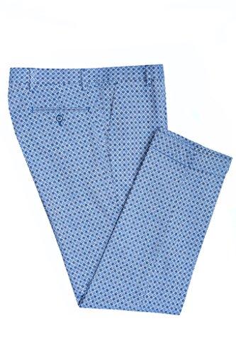Vincent Trade Herren Anzughose Azzurro/Blue
