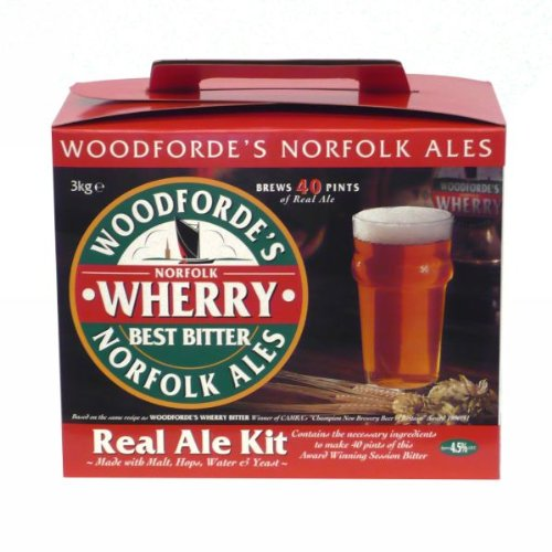 Woodfordes/Muntons Boîte de Woodford Wherry Real Ale 3 kg