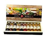 Gourmet Geschenkset Crema Essig und Öl (10x40ml)