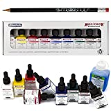 Airbrush Farben-Set Schmincke Aero Color Professional Basis 9 x 28 ml + 125 ml Reinigungsmittel Cleaner