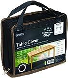 Gardman cover for rectangular tables, 8 people, black