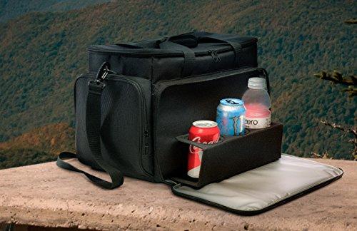 Prosumer Choice weiche bewegliche Kühltasche mit großem Isolierte wasserdichten Innen und Ausziehbare Getränketablett