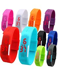 PETER INDIA,,Gifts Kids Favorite Birthday Return Gift Set Of 10 LED Bands - Multicolour