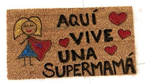 FELPUDO SUPERMAMA