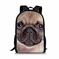 Coloranimal Cute 3D Pet Dog Cat Backpack Kids Animal Pattern School Bookbags