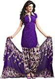 Varsha Women's Synthetic Unstitched Dres...