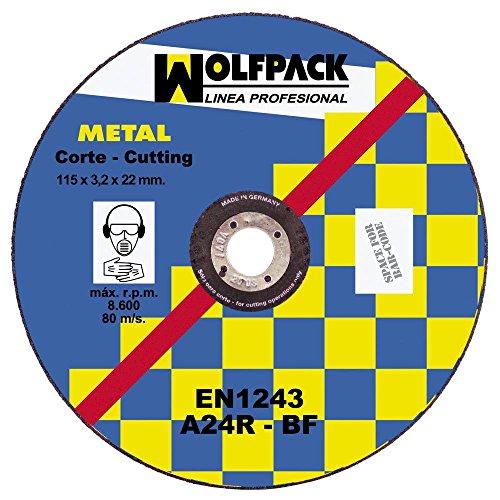 Wolfpack 9010220-Wolfpack Eisen 115X 3,2X 22 (X-forged Eisen)