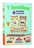 Apicoove APICOOVE3760002230849Violette la Reinette Happy Family Game
