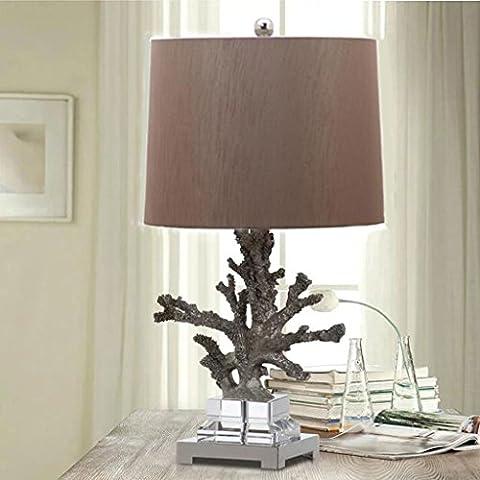 Campioni Hotel vacanze decorato corallo creativo decorazione modello camera lampada