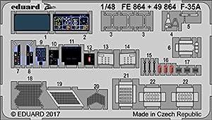 Eduard EDBIG49186 Big Ed - Juego de Accesorios fotográficos (Escala 1:48-F-35A, Lightning II Meng)