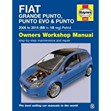 Fiat Grande Punto. Punto Evo & Punto Petrol Owners Workshop (Haynes Service and Repair Manuals)