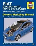 Fiat Punto (07 - 14) Haynes Repair Manual (Haynes Service and Repair Manuals)