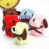 Christine 30x 30cm Weihnachtsgeschenk-Hunde-Motiv, Baumwolle, Handtuch-Festival-Facecloth, Wie abgebildet, Free Size