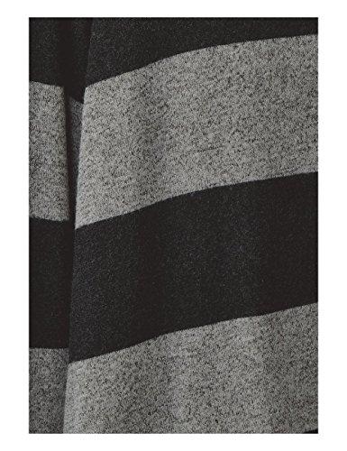Street One Damen Langarmshirt Schwarz (Black 20001)