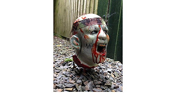 Splattered in Blood 3D Archery Targets UK ZOM01 Superb to Shoot 3D Zombie Archery Target