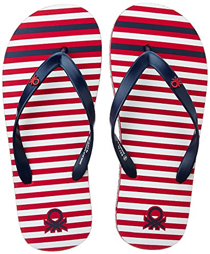 United Colors of Benetton Men's Red Flip-Flops and House Slippers...