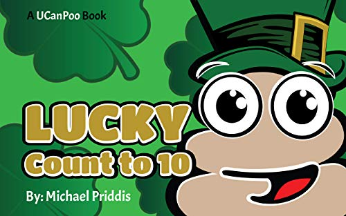 UCanPoo - Lucky Count to 10 : Poo is counting his lucky things from 1 to 10 | Preschool, Kindergarten, Early Learning Book (English Edition)