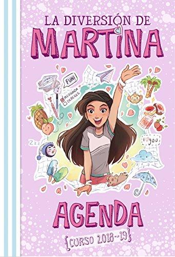Agenda {Curso 2018-19} (La diversión de Martina) por Martina D'Antiochia