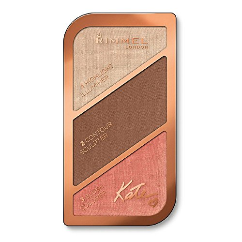 (6 Pack) RIMMEL LONDON Kate Sculpting Face Kit Golden Bronze