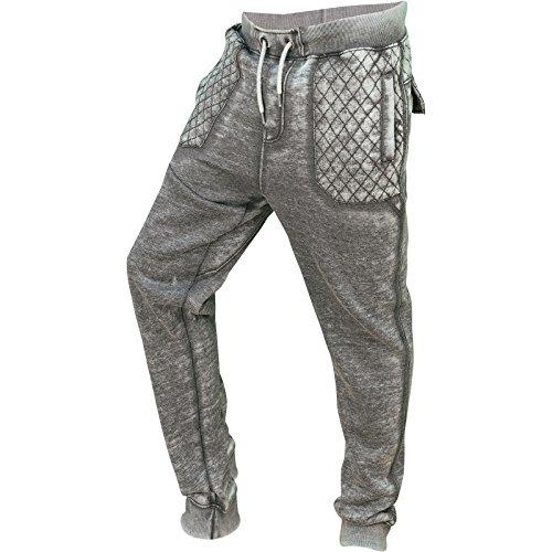 SoulStar -  Pantaloni sportivi  - Uomo Charcoal