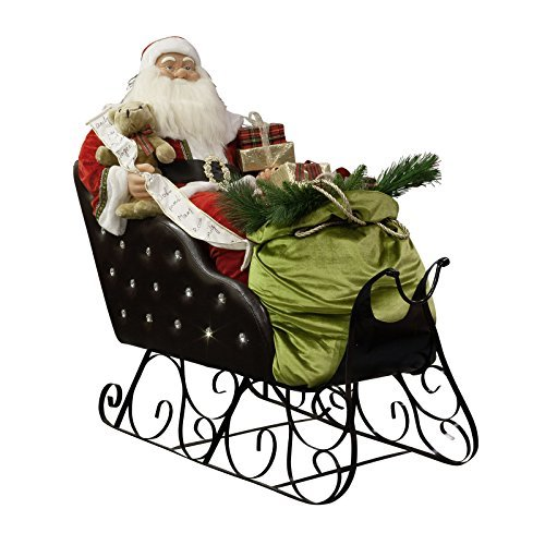 weihnachtsmann schlitten deko bestseller shop mit top. Black Bedroom Furniture Sets. Home Design Ideas