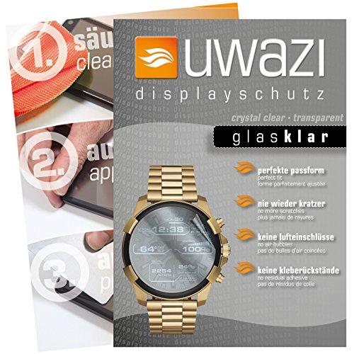 uwazi I 5X Glas-klare Schutzfolie für Diesel On Full Guard Displayschutzfolie I Folie I Anti Fingerabdruck I Anti Kratzer -