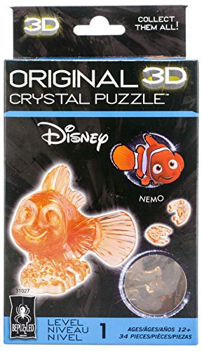 University Games 3-D Licensed Crystal Puzzle-Nemo