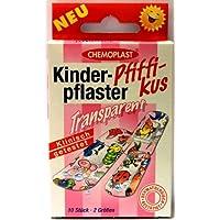 KINDERPFLASTER Pfiffikus transparent 2 Groessen 10 Stück preisvergleich bei billige-tabletten.eu