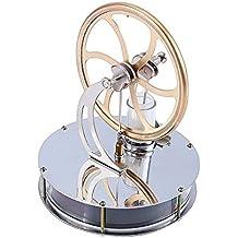 Yosoo Baja temperatura de acero inoxidable Stirling calor del motor de vapor Educación Modelo juguete creativo del regalo del juguete