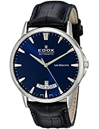 Edox Les Bémonts reloj hombre Day Date 83015 3 BUIN