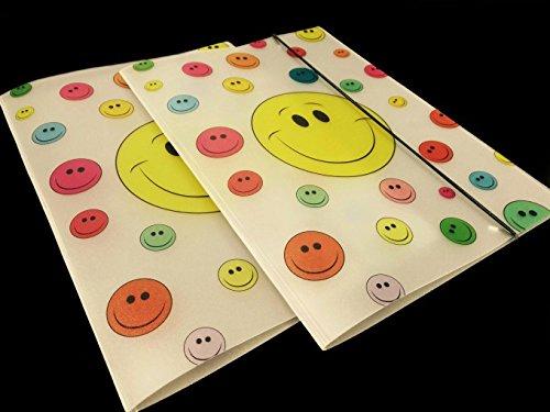Sammelmappe großer Smiley mit kleinen Smileys im Doppelpack