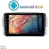 Android 8.1.0 Autoradio, Hi-azul Car Radio 8 Zoll Car Stereo GPS Navigation Moniciver Navi Car Audio für Mercedes-Benz CLK-W209 C209/ C Class W203/ Viano/Vito/A-Class (Autoradio)