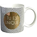 LA CARTERIE Mug cadeau à message  Tu es unique