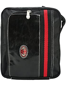AC Milan 1899 Official Product Handtasche Herrenhandtaschen Umhängetasche Schultertasche Henkeltasche team football