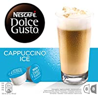 NESCAFÉ Dolce Gusto | Capsulas de Café Cappuccino Ice | Pack de 3 x 16 Cápsulas