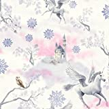Fairytale Unicorn Tapete - Flieder - Arthouse 667801