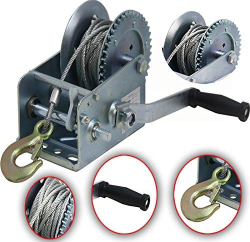 Auto & Motorrad: Teile Seilwinde Seilzug 800lbs 360 Kg 4 Mm X 7 M Gurte, Bänder, Ketten & Züge