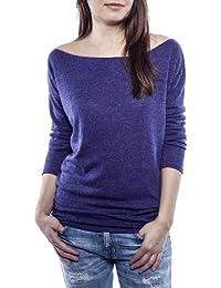Ella Manue Frauen Roundneck Shirt Chloe