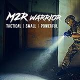 Olight® M2R Warrior LED Taschenlampe taktisch - mit XHP35 HD CW LED, 18650 3500mAh Akku und MCC USB-Magnetladekabel - Max.1500 Lumen - Kaltweiß - 3