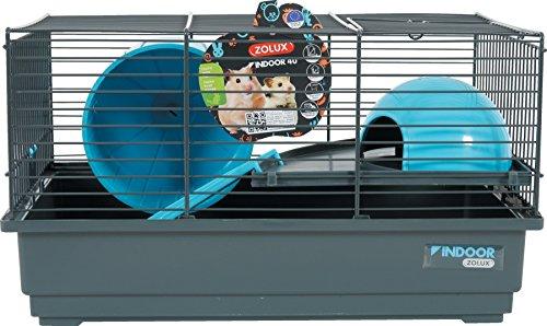 Zolux Gabbia Indoor Criceto Blu 40cm per Piccolo Animale
