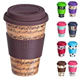 Best Coffee Cups - Bamboo Cup Reusable Ecoffee Cup with Lid Review