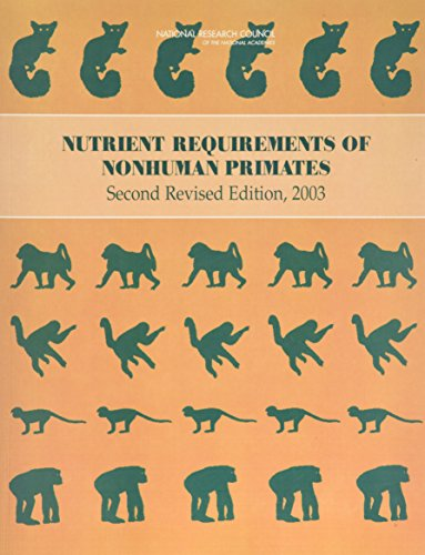 Nutrient Requirements of Nonhuman Primates: Second Revised Edition (Nutrient Requirements of Domestic Animals: A Series)