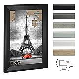 Cadre á puzzle PRIO 50x70cm Noir (mat) pour 500-1000 Pièces antireflet*
