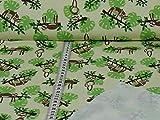 Jersey Cozy Sloth Faultiere Öko-Tex Standard 100 (25cm x